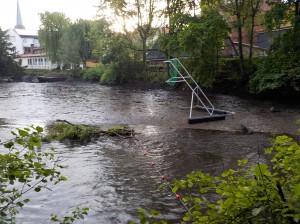 Tor flussaufwärts - über Schlick (Foto: K. Altenfelder)